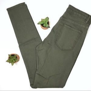 Divided | Army Green Jeans
